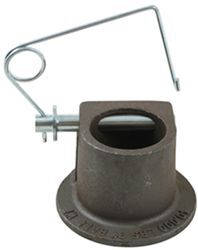 "Gooseneck Coupler Head with Pin, 3"" Ball"