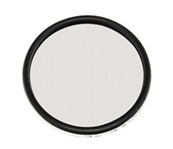 Round, Convex Blind Spot Mirror for Wheel Masters Vision Plus and Eagle Vision Towing Mirrors