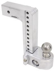"Weigh Safe 2-Ball Mount w/ Built-In Scale - 2-1/2"" Hitch - 10"" Drop, 11"" Rise - 12.5K"