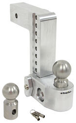 "Weigh Safe 2-Ball Mount w/ Built-In Scale - 2-1/2"" Hitch - 8"" Drop, 9"" Rise - 14.5K"