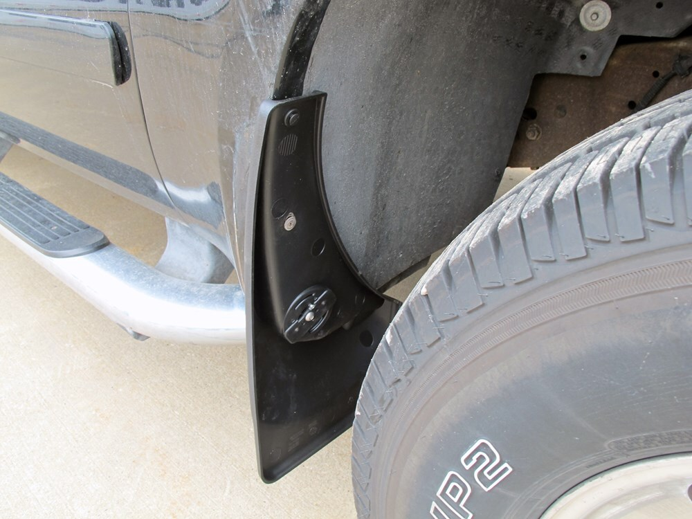 2005 ford f 250 and f 350 super duty mud flaps weathertech. Black Bedroom Furniture Sets. Home Design Ideas