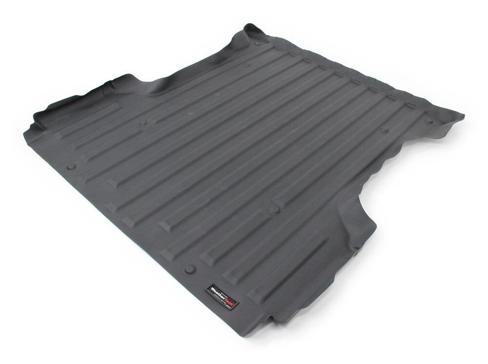 Weathertech Techliner Custom Truck Bed Mat Black