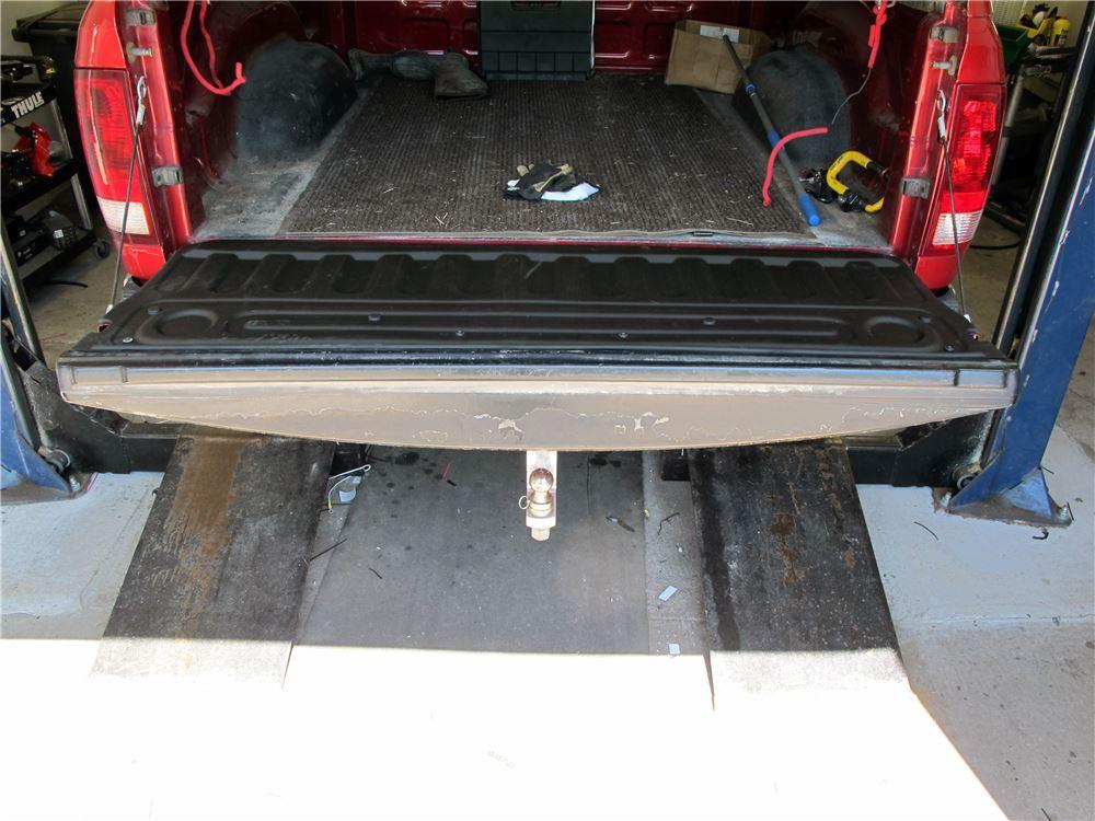 Weathertech Techliner Custom Tailgate Liner Black