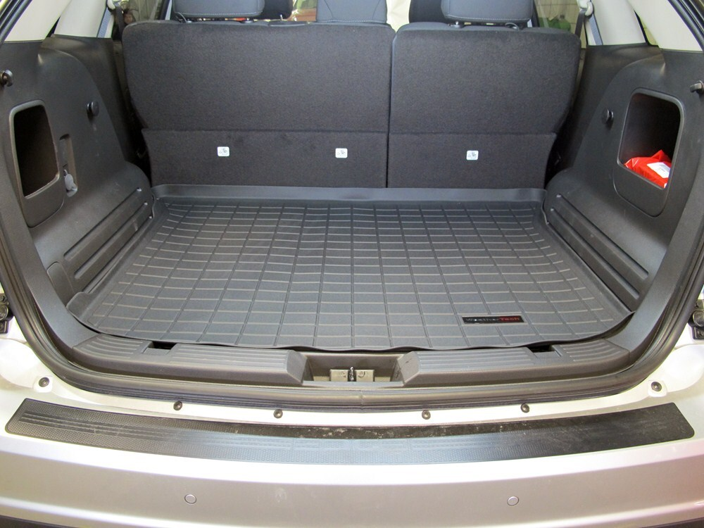 2012 Ford Edge Weathertech Cargo Liner Black