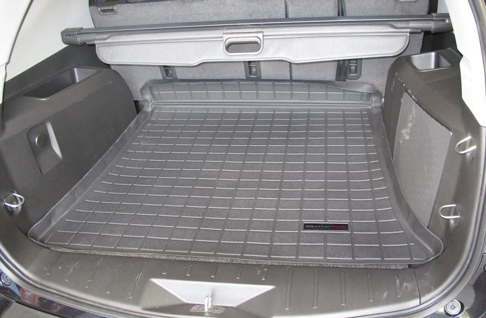 2011 Chevrolet Equinox Weathertech Cargo Liner Black