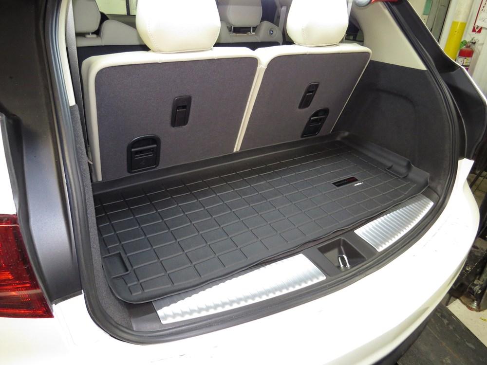 2016 Acura Mdx Weathertech Cargo Liner Black