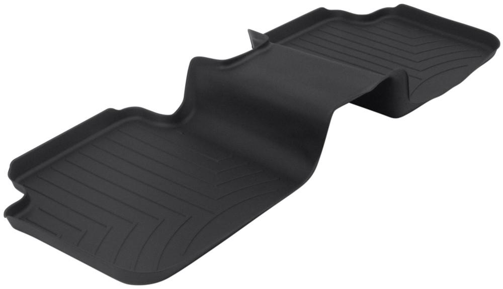 Weathertech 2nd row rear auto floor mat black for 1992 honda accord floor mats
