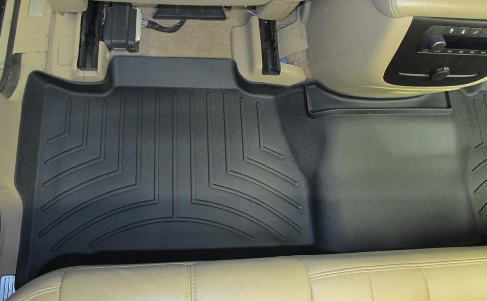 2011 chevrolet suburban floor mats weathertech for Suburban floors