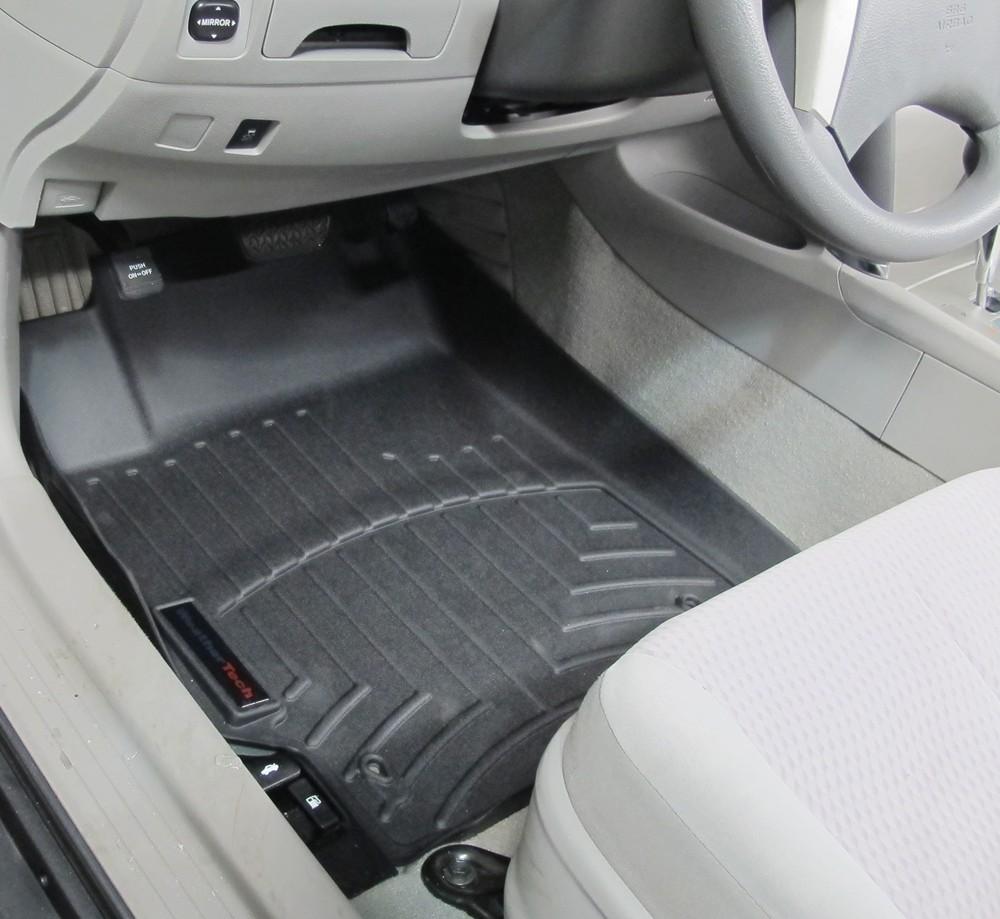2007 toyota camry floor mats weathertech for 2009 toyota camry floor mats