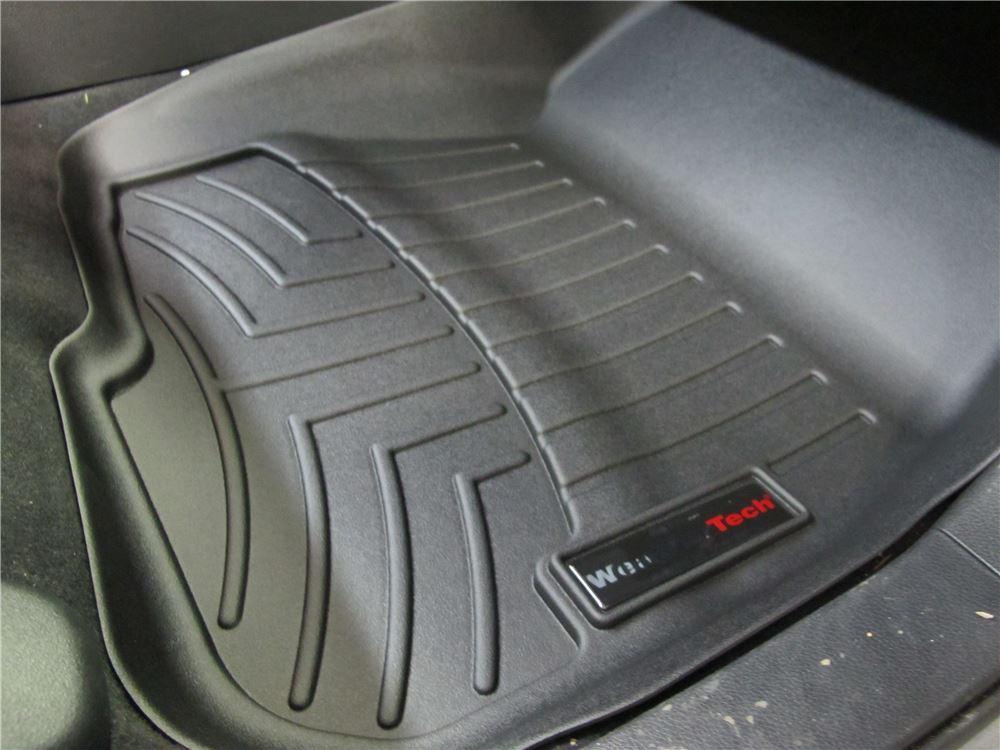 2018 Honda CR-V WeatherTech Front Auto Floor Mats - Black