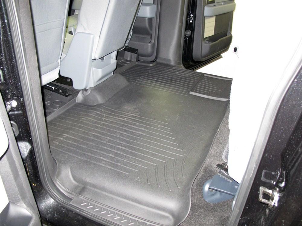 weathertech 2nd row rear auto floor mat