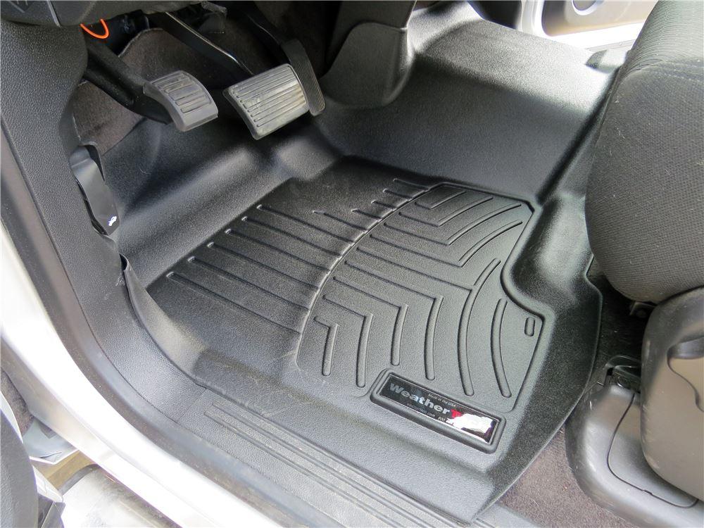 weathertech front auto floor mat - single piece