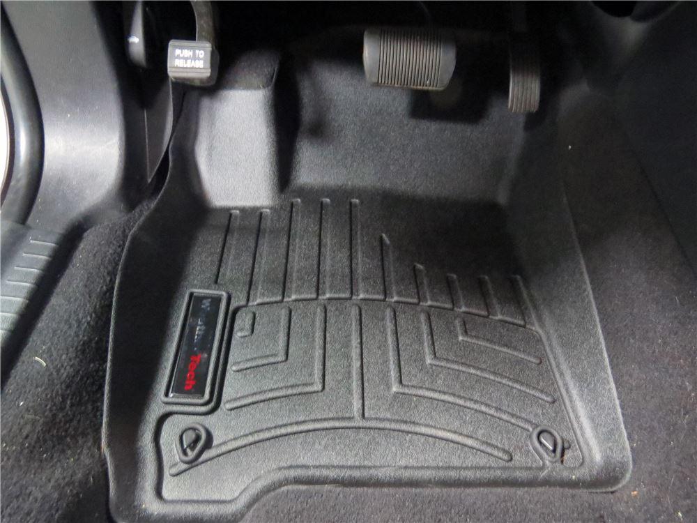 2012 Dodge Journey Floor Mats Weathertech
