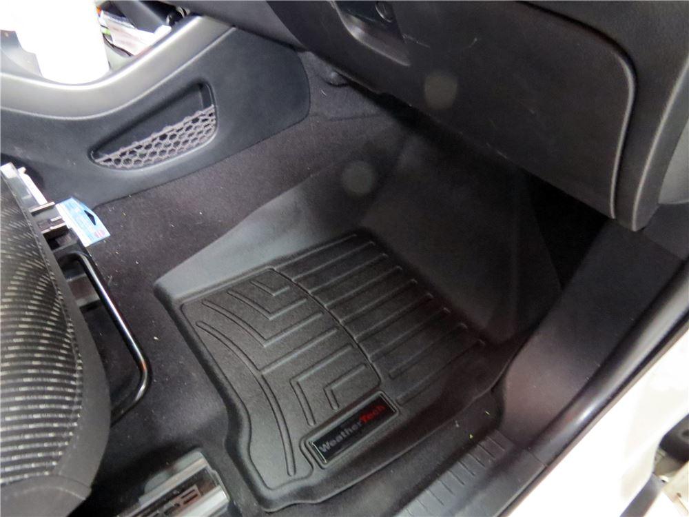 2016 dodge journey weathertech front auto floor mats black. Black Bedroom Furniture Sets. Home Design Ideas
