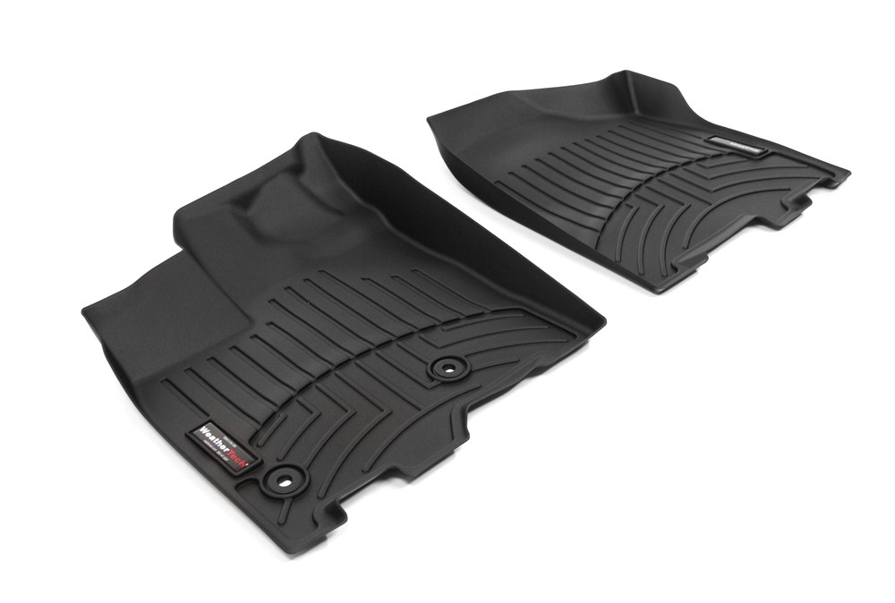 2013 toyota sienna weathertech front auto floor mats black. Black Bedroom Furniture Sets. Home Design Ideas