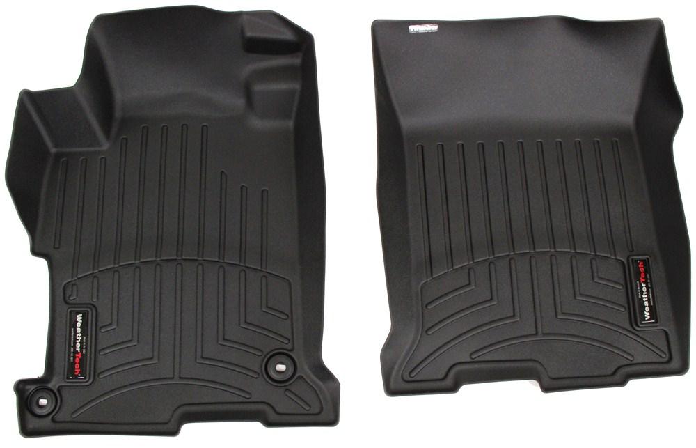 2016 honda accord weathertech front auto floor mats black. Black Bedroom Furniture Sets. Home Design Ideas