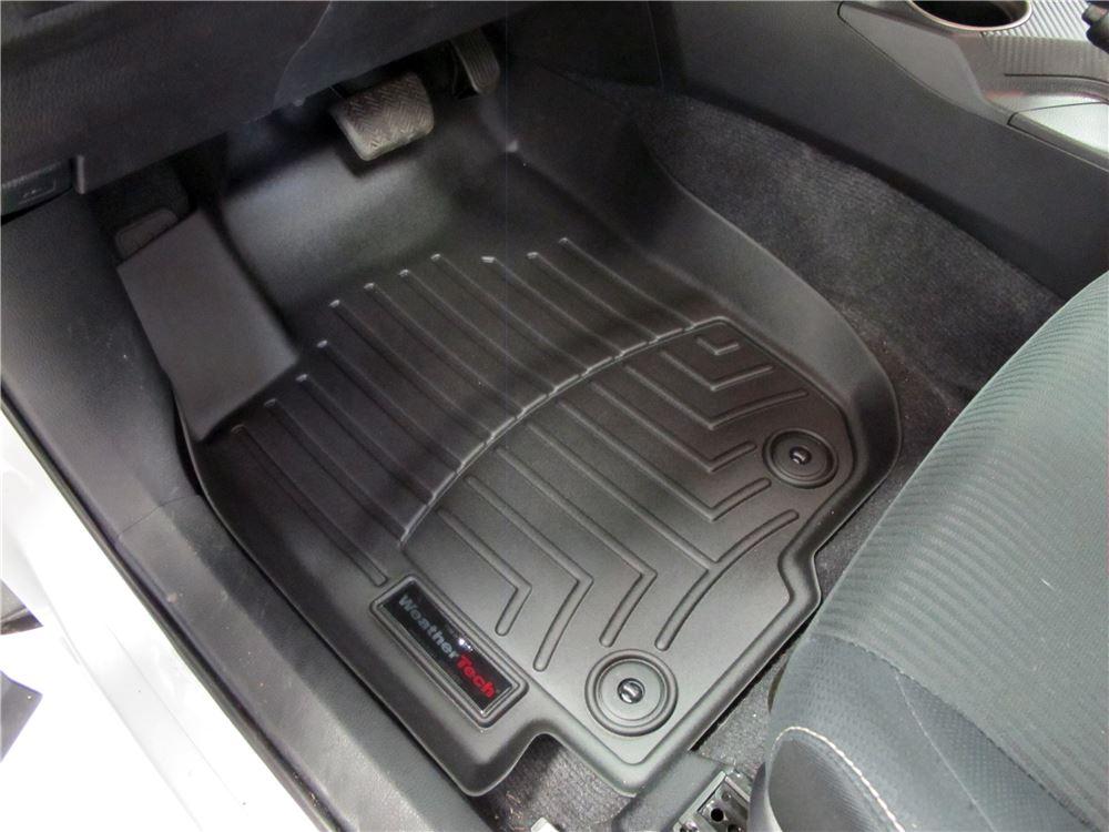 2014 toyota rav4 weathertech front auto floor mats black. Black Bedroom Furniture Sets. Home Design Ideas