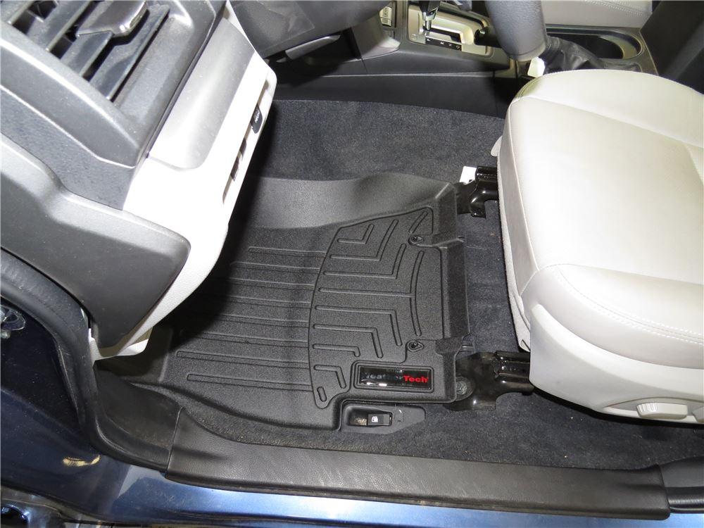 2018 subaru forester weathertech front auto floor mats