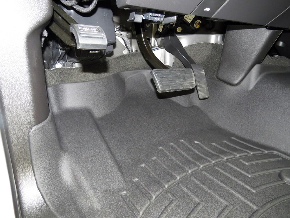 2017 Chevrolet Silverado 1500 Wt >> WeatherTech Front Auto Floor Mat - Black WeatherTech Floor ...