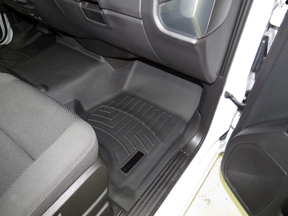 Weathertech Front Auto Floor Mat Black Weathertech Floor