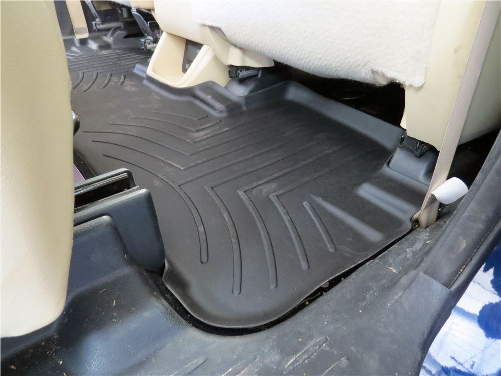 2015 Toyota Highlander Weathertech 2nd And 3rd Row Rear