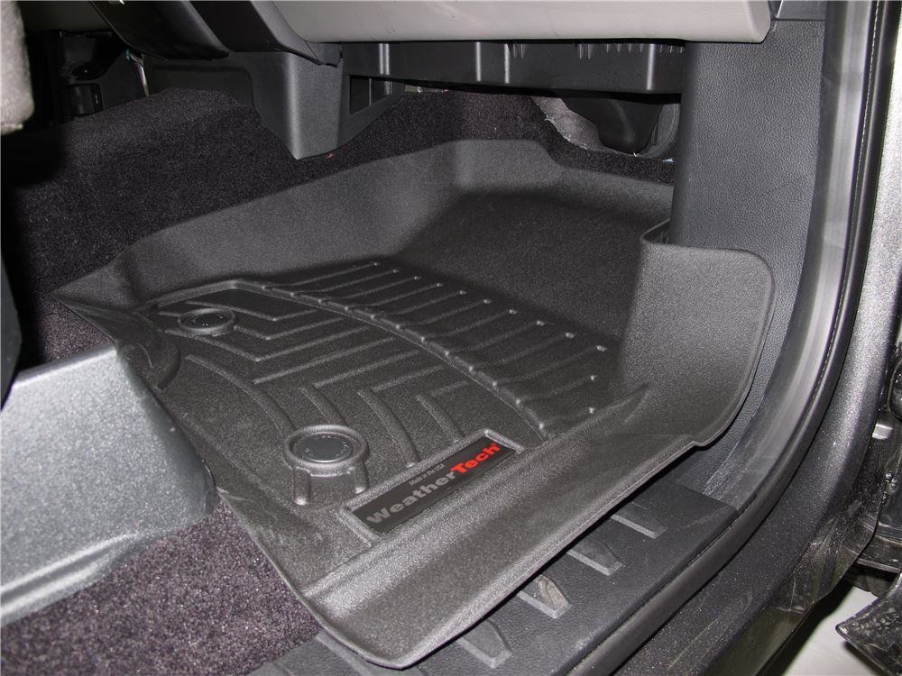 2018 ford f-150 weathertech front auto floor mats