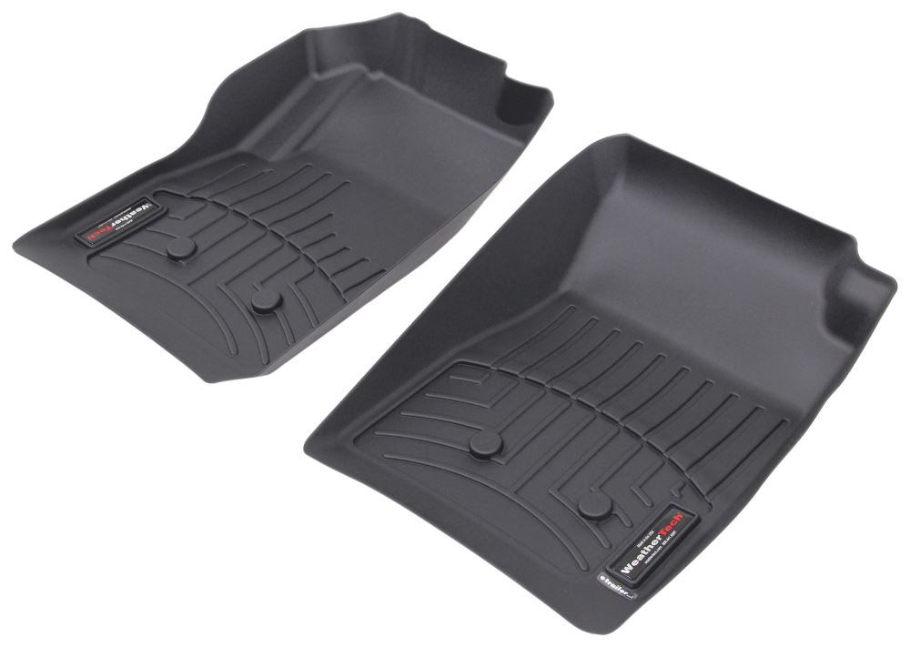 weathertech floor mats 2016 chevy chevrolet colorado weathertech front auto floor. Black Bedroom Furniture Sets. Home Design Ideas