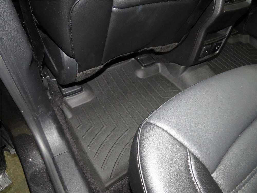 2016 ford edge weathertech 2nd row rear auto floor mat