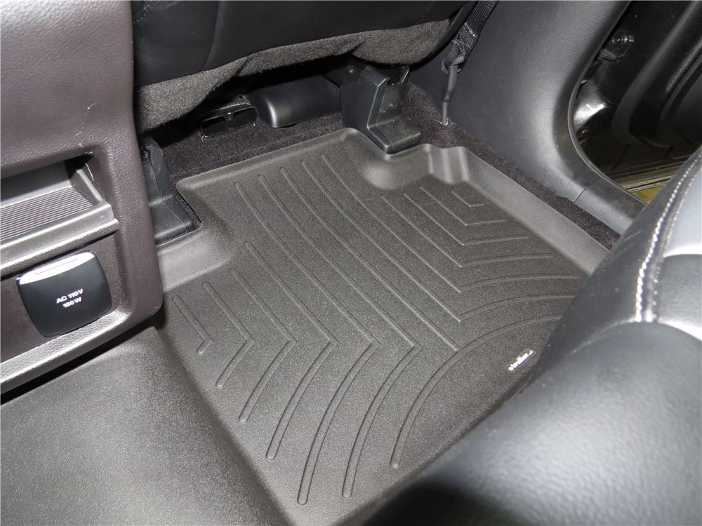 2015 Ford Edge Weathertech 2nd Row Rear Auto Floor Mat Black