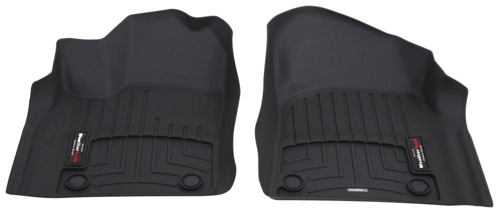 2016 dodge durango weathertech front auto floor mats black. Black Bedroom Furniture Sets. Home Design Ideas