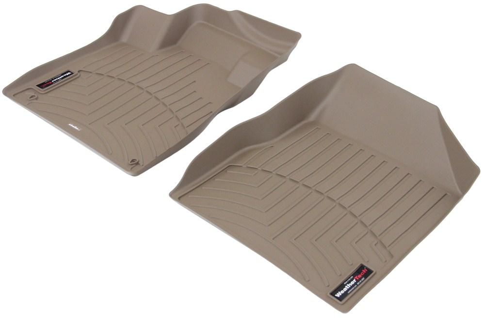 2014 Nissan Murano Weathertech Front Auto Floor Mats Tan