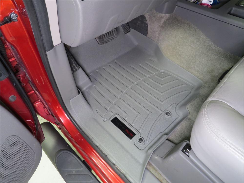 2016 Nissan Frontier Weathertech Front Auto Floor Mats Gray