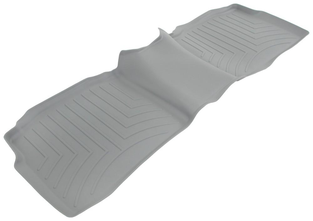 2011 hyundai sonata weathertech 2nd row rear auto floor mat gray. Black Bedroom Furniture Sets. Home Design Ideas