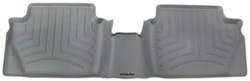WeatherTech 2nd Row Rear Auto Floor Mat - Gray - WT463232