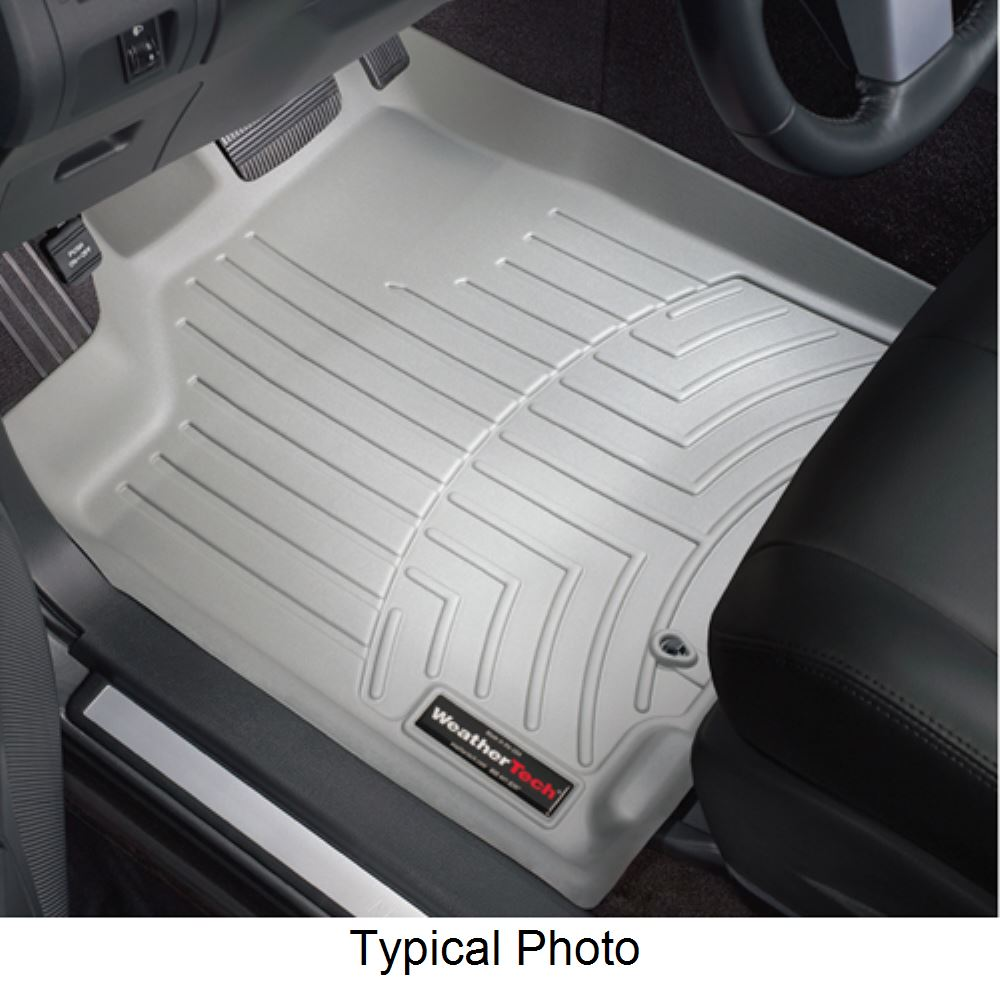 2016 honda civic weathertech front auto floor mats gray. Black Bedroom Furniture Sets. Home Design Ideas