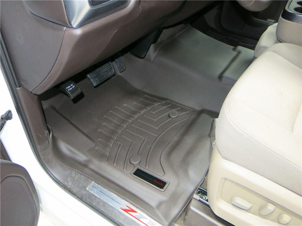 2016 Chevrolet Silverado 1500 Weathertech Front Auto Floor