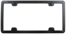 WeatherTech ClearFrame License-Plate Frame - Black