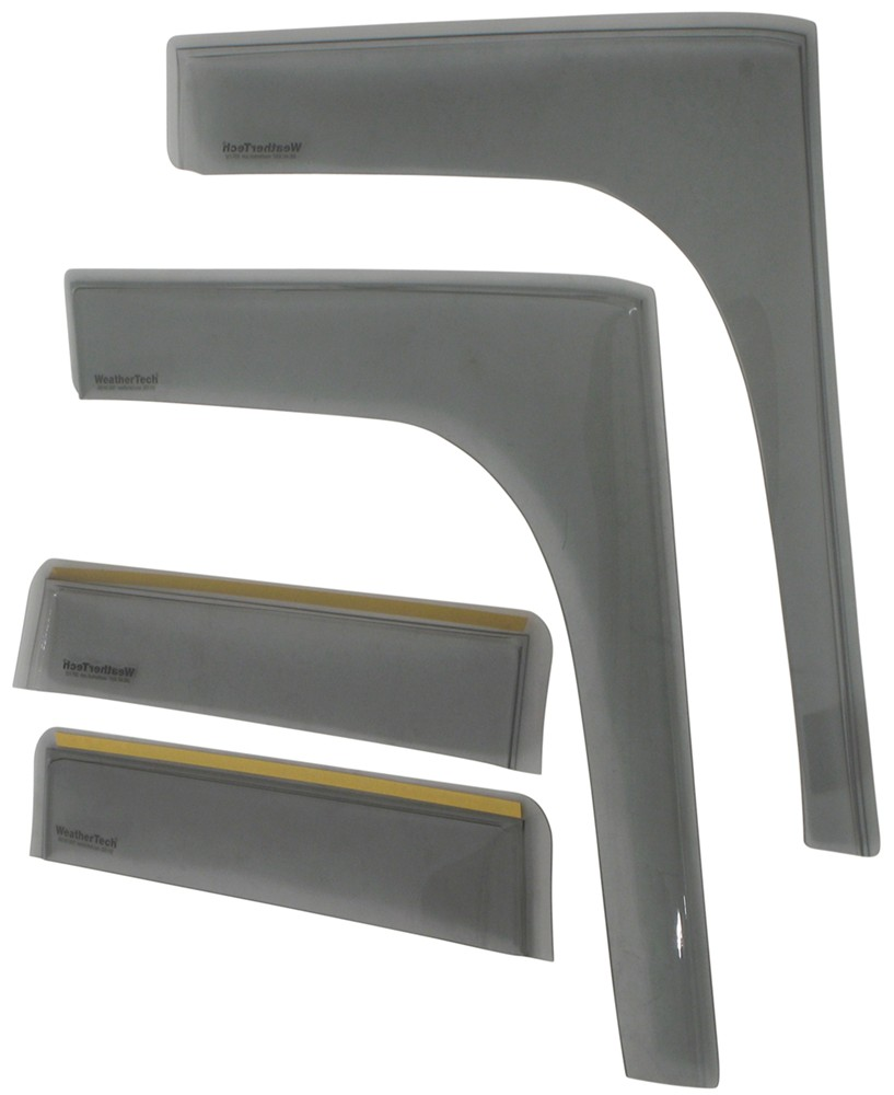 Weathertech Side Window Air Deflectors With Light Tinting