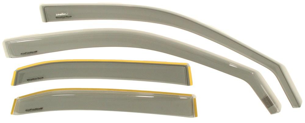 2002 honda civic air deflectors weathertech for 2002 honda civic rear window visor