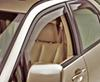 WeatherTech Side Window Air Deflectors with Light Tinting - Front and Rear - 4 Piece