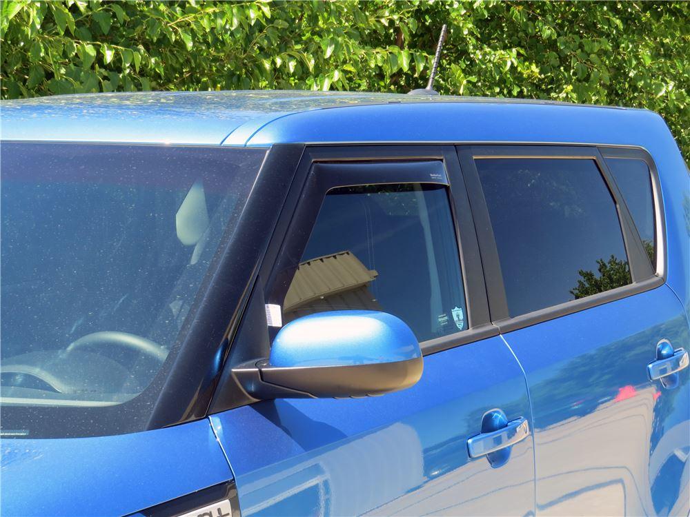 2016 Kia Soul Weathertech Side Window Air Deflectors With