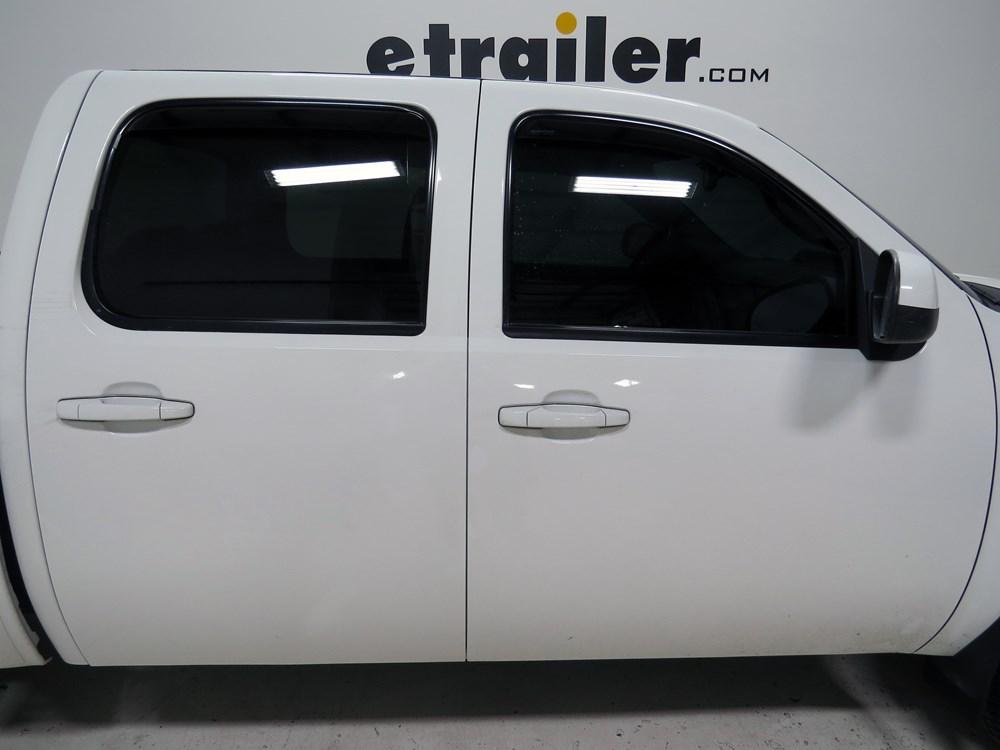 2011 Chevrolet Silverado Air Deflectors Weathertech