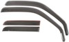 WeatherTech Side Window Air Deflectors with Dark Tinting - Front and Rear - 4 Piece