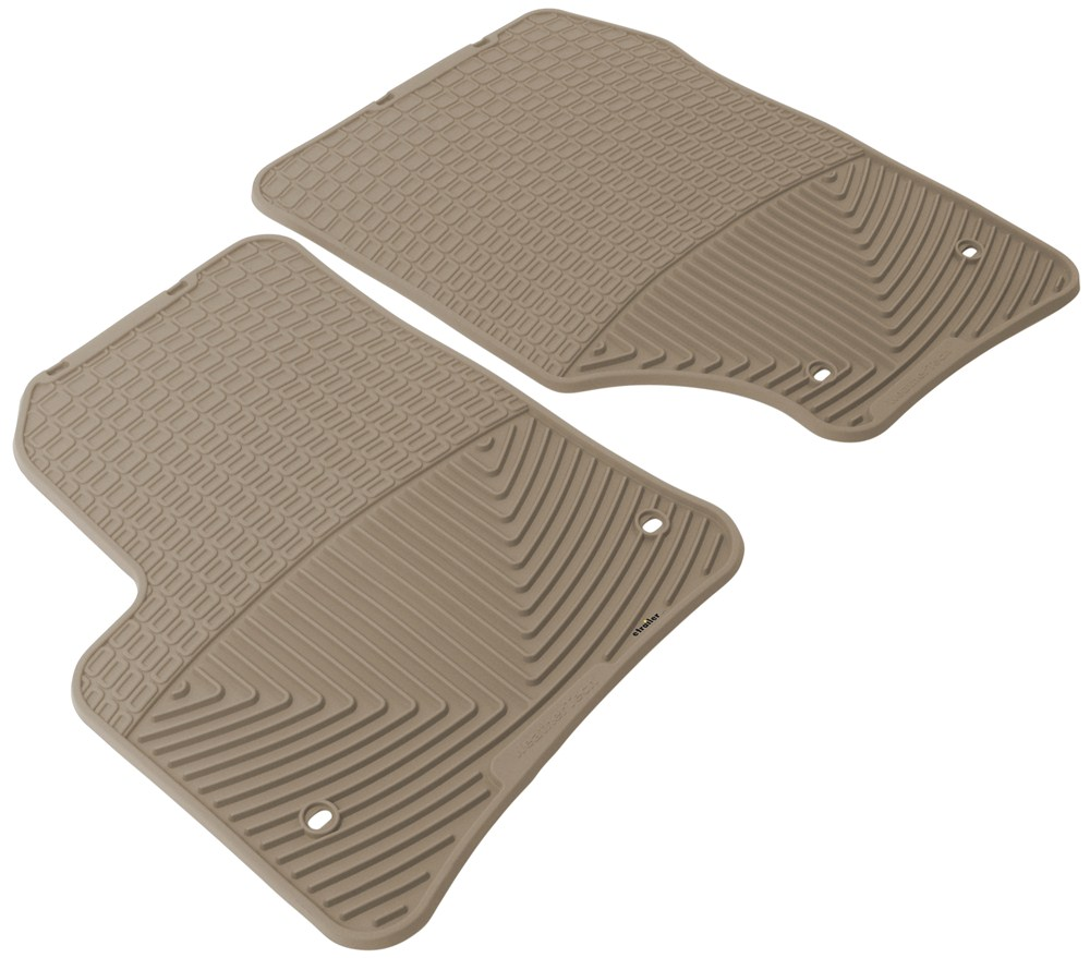 2008 Audi Q7 WeatherTech All-Weather Front Floor Mats