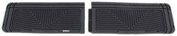 WeatherTech All-Weather 3rd Row Rear Floor Mats - Black