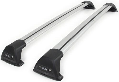 Whispbar Flush Bar Roof Rack   Aluminum   2 Crossbars