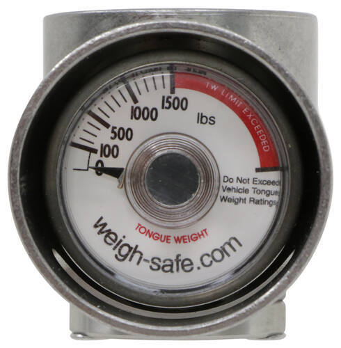 Weigh Safe built-in tongue weight scale