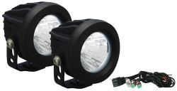 "Vision X Optimus Round Prime Pod Light Kit - LED - 20 Watts - Wide Spot Beam - 3-3/4"" Diameter"