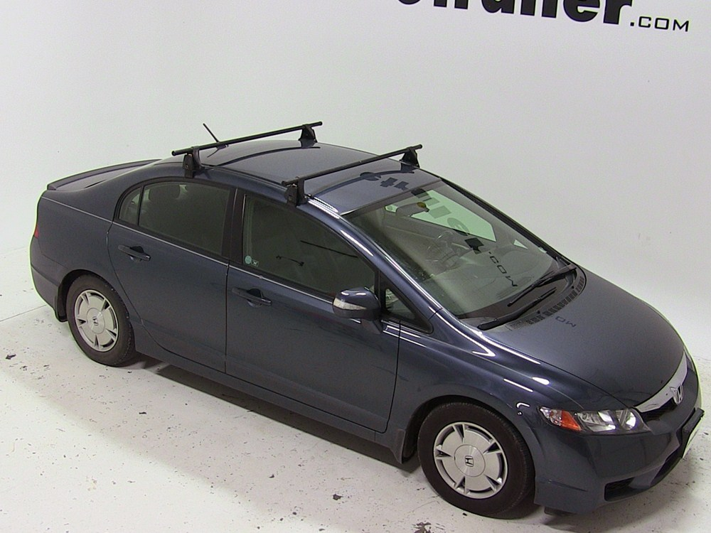 Yakima Roof Rack For 2008 Civic By Honda Etrailer Com