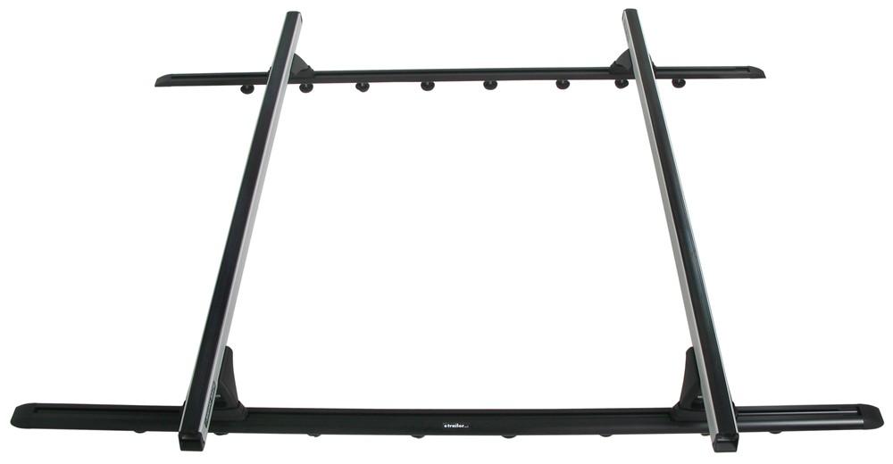 rhino-rack roof rack system w   2 heavy-duty crossbars - track mount - silver